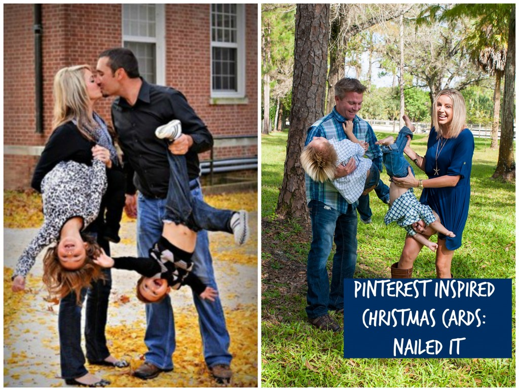 Pinterest Inspired Christmas Photos - Nailed it!  ElliBelle Photography West Palm Beach Florida