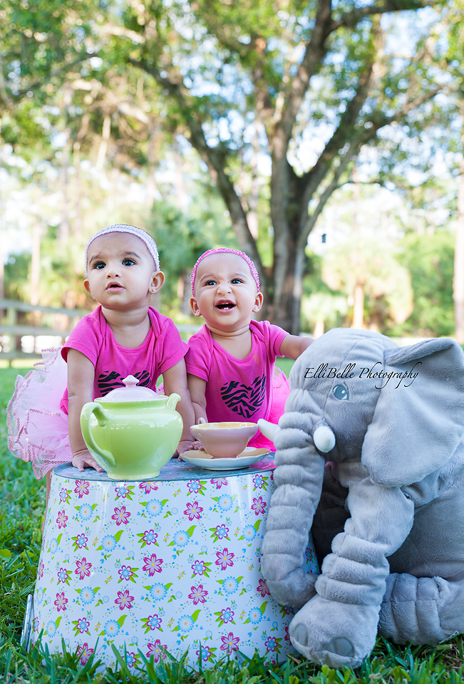 Ten Month Twins – Palm Beach County Photographer